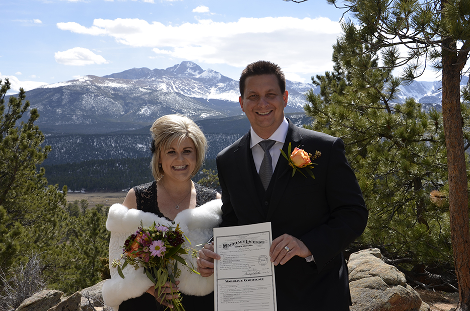 Wedding vendor spotlight estes park wedding site estes park our company offers a high quality 1500 inclusive wedding package which covers most of the cost of the wedding in estes park venue 7 ceremony sites in junglespirit Images